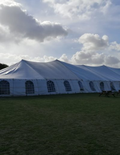 Peg and Pole Marquee Tent